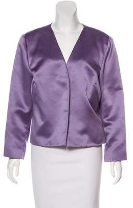 Nicole Miller Satin Casual Jacket