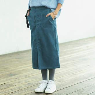 12closet (トゥエルブクローゼット) - 12closet 【福田麻琴さんコラボ】【洗える】コーデュロイベイカースカート