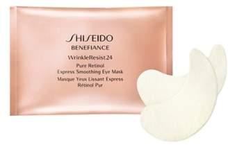 Shiseido Benefiance WrinkleResist24 Pure Retinol Express Smoothing Eye Mask