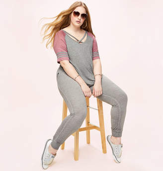 Loralette Washed Jogger in Grey