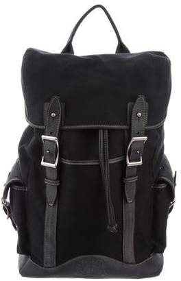 Ghurka Canvas & Leather Backpack