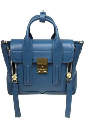 3.1 Phillip Lim Phillip Lim Pashli Mini Handbag In Blue Leather