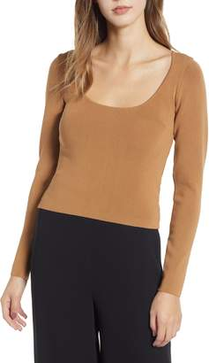 Leith Fitted Knit Top