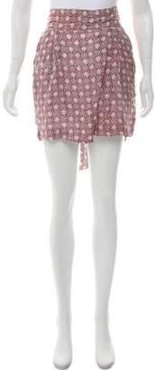 Apiece Apart Silk Printed Shorts w/ Tags