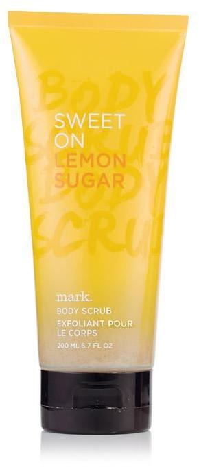 Mark Sweet on Lemon Sugar Body Scrub