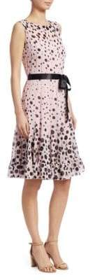 Teri Jon by Rickie Freeman Polka Dot Dress