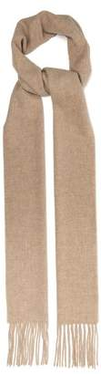Acne Studios Canada Skinny Wool Scarf - Womens - Camel