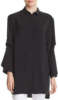 Kenneth Cole Tab-Sleeve Tunic Shirt