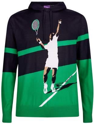 Ralph Lauren Cashmere Tennis Hoodie