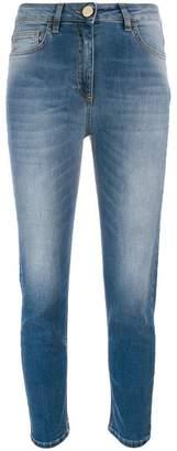 Elisabetta Franchi cropped skinny jeans