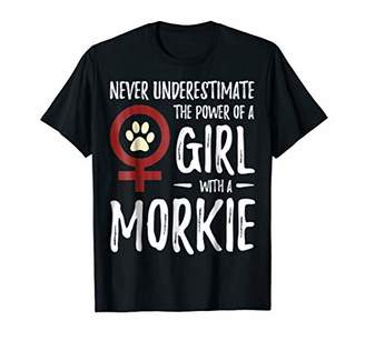 Girl With Morkie Best T-shirt
