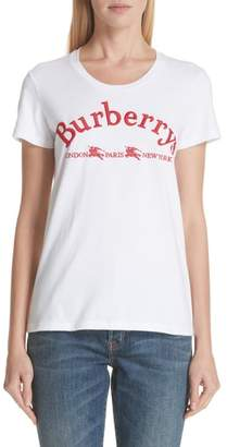 Burberry Pairi Archive Logo Tee