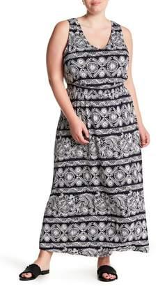 Joe Fresh Smocked Maxi Dress (Plus Size)