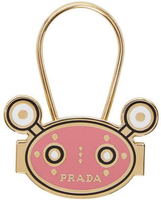 Prada Pink Monster Keychain