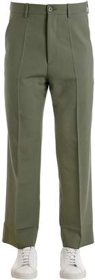Marni 24cm Virgin Wool Pants W/ Lining