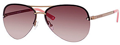 Juicy Couture Rimless Aviator Sunglasses