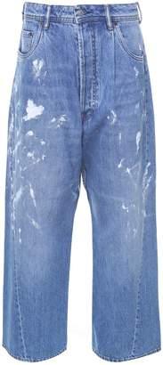 Acne Studios Bla Konst Painted-denim Oversized Jeans