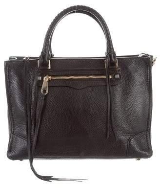 Rebecca Minkoff Textured Leather Regan Satchel w/ Tags