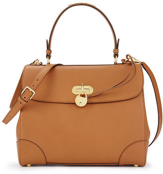 Ralph Lauren Medium Calfskin Tiffin Bag $2,250 thestylecure.com