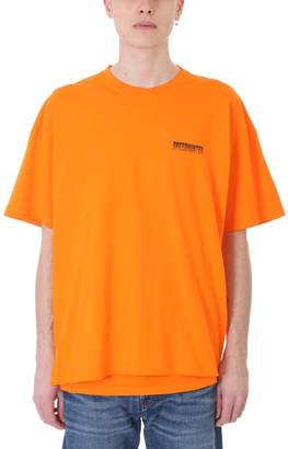 Balenciaga Speedhunter Orange Cotton T-shirt