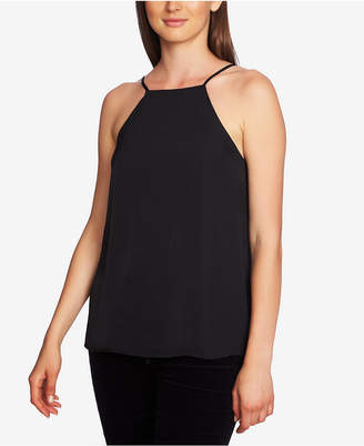 1 STATE 1.state Laced-Back Halter Top