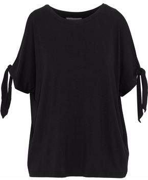 Rebecca Minkoff Cold-Shoulder Stretch-Knit Top