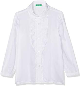 Benetton Girl's Shirt Blouse,(Manufacturer Size: Small)
