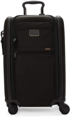 Tumi Black International Dual Access Carry-On Suitcase