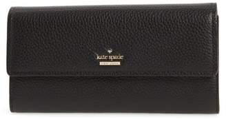 Kate Spade Oakwood Street - Kinsley Pebbled Leather Wallet