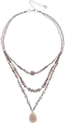Nakamol CHICAGO Labradorite mix necklace (LDM)