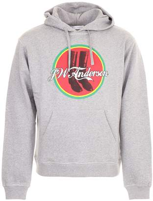 J.W.Anderson Cola Boots Hoodie