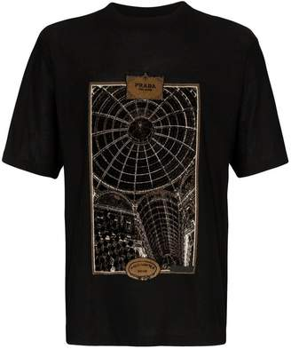 Prada Gallery Print T-shirt
