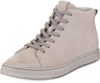 Kenneth Cole Men's Design Nubuck High-Top Sneakers