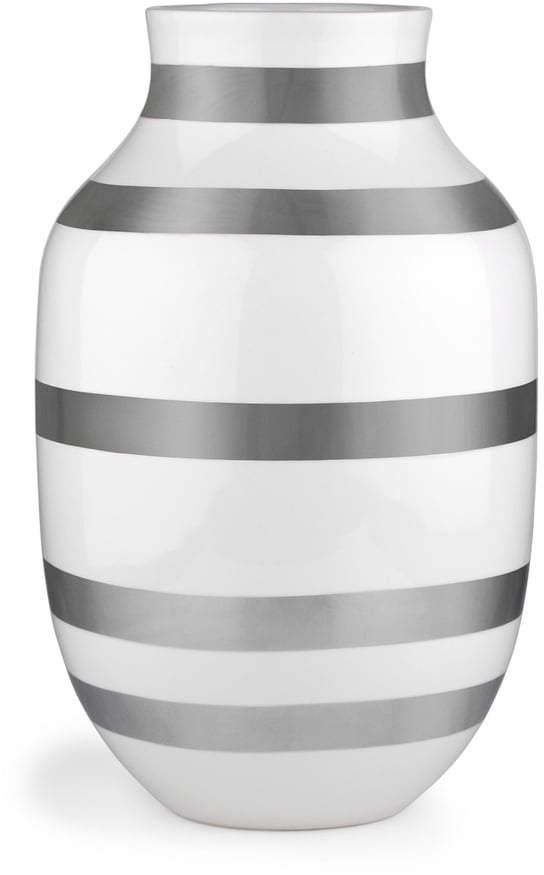 Kähler Design - Omaggio Vase H 305, Silber