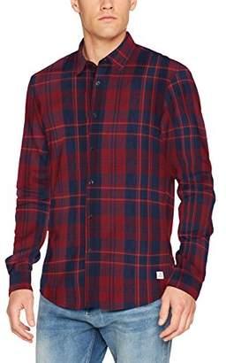 Tom Tailor Men's Fitted Lumberjack Casual Shirt