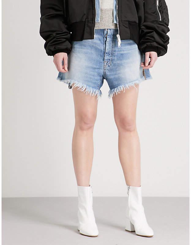 Baggy Boy high-rise denim shorts
