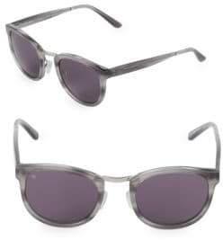 Crossroad 49MM Oval Sunglasses
