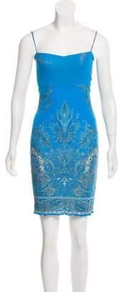 Yigal Azrouel Yigal Sleeveless Printed Knee-Length Dress