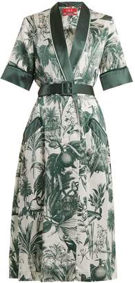 Panacea F.R.S - FOR RESTLESS SLEEPERS floral-print cotton-blend dress