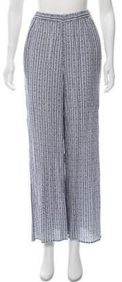 Mara Hoffman High-Rise Wide-Leg Pants