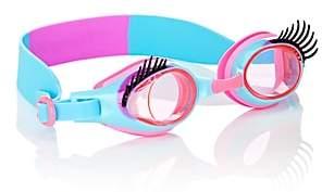 Bling 2o Glam Lash Swim Goggles - Blue