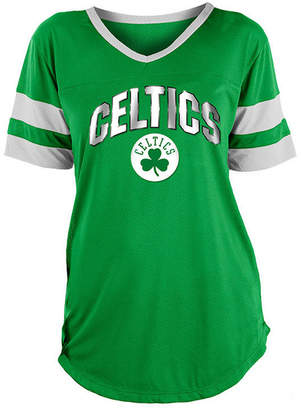 5th & Ocean Women Boston Celtics Mesh T-Shirt
