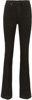 Rag & Bone/Jean Bella Black Flare Jeans