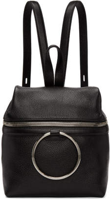 Kara SSENSE Exclusive Black Small Ring Backpack