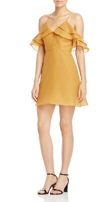 Keepsake Lost Lover Cold-Shoulder Dress $165 thestylecure.com