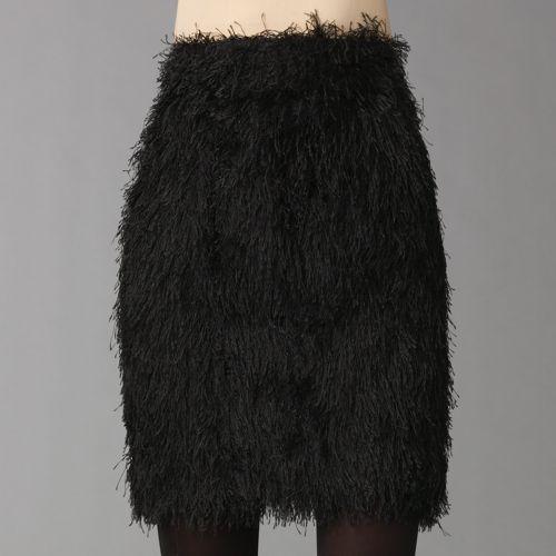 Fendi Feather Skirt