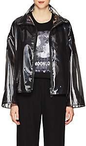 Valentino Women's Sheer Layered Coat - Black