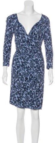 Tory BurchTory Burch Printed Sheath Dress