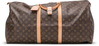 Louis Vuitton Keepall (With Accessories) Monogram 60 Brown