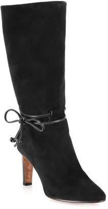 Chloé Women's Kono Suede Tie Boots